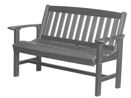Wildridge Classic Recycled Plastic Mission Bench