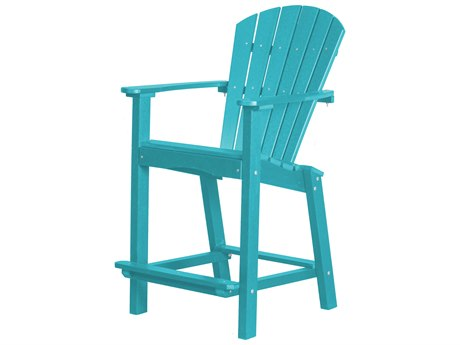 Wildridge Classic Recycled Plastic 26'' High Dining Arm Chair