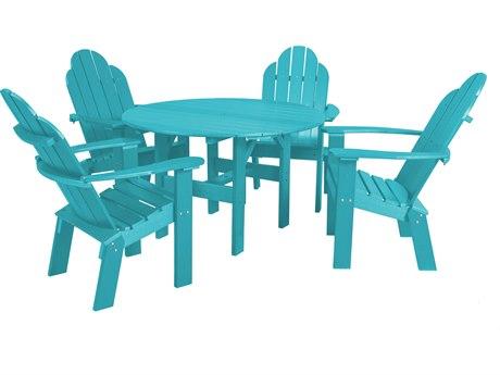 Wildridge Classic Recycled Plastic 5 Piece Dining Set
