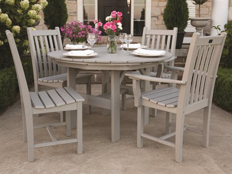 Wildridge Classic Recycled Plastic 5 Piece Dining Set PatioLiving
