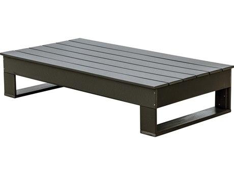 Wildridge Contemporary Recycled Plastic Deep Seating 66''W x 35''D Rectangular Coffee Table