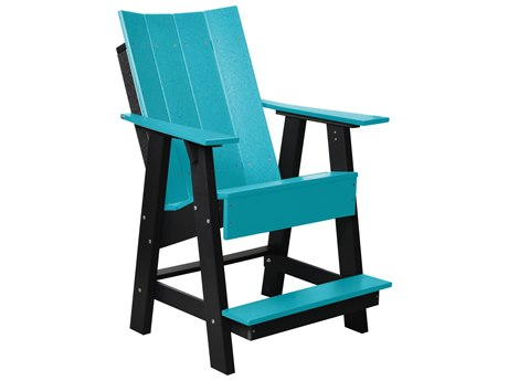 Wildridge Contemporary Recycled Plastic High Adirondack Chair