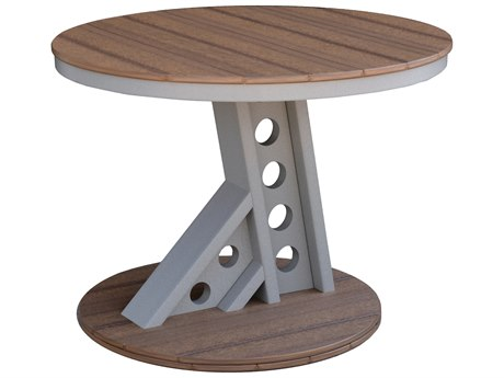 Wildridge Contemporary Recycled Plastic Manhattan Rise 41''Wide Round Dining Height Table