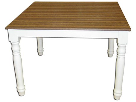 Wildridge Farm House Recycled Plastic 44''Wide Square Dining Table