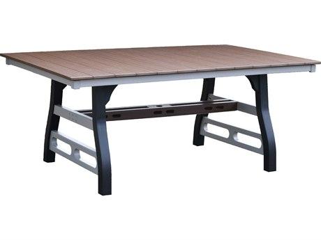 Wildridge David Lewis Recycled Plastic 72''W x 44''D Rectangular Dining Table