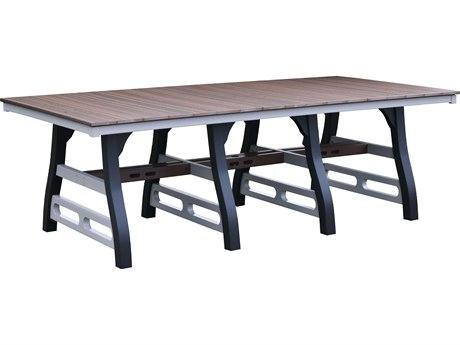 Wildridge David Lewis Recycled Plastic 94''W x 44''D Rectangular Dining Table