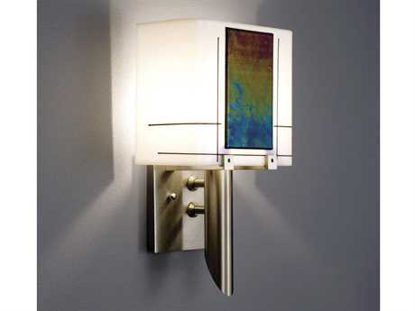 WPT Design Dessy Stainless Steel Wall Sconce