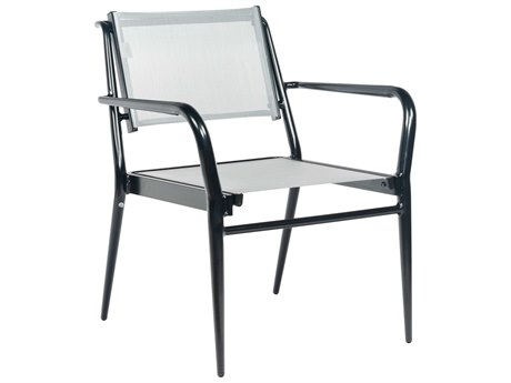 Woodard Daytona Sling Aluminum Dining Chair