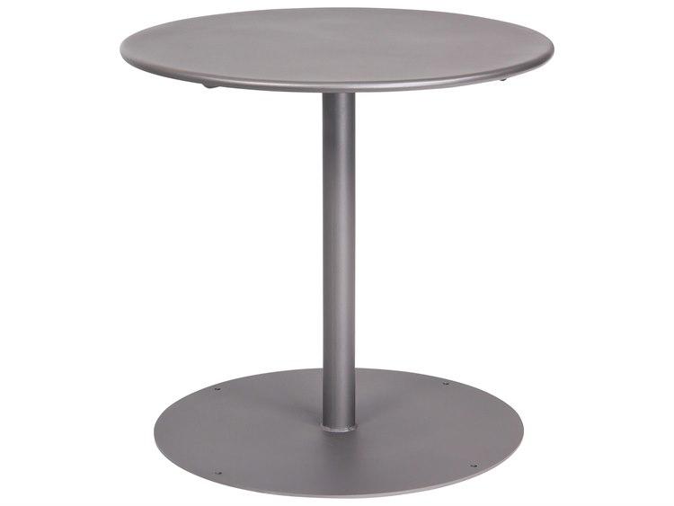 Woodard Wrought Iron 30 Round Bistro Table with Pedestal Base