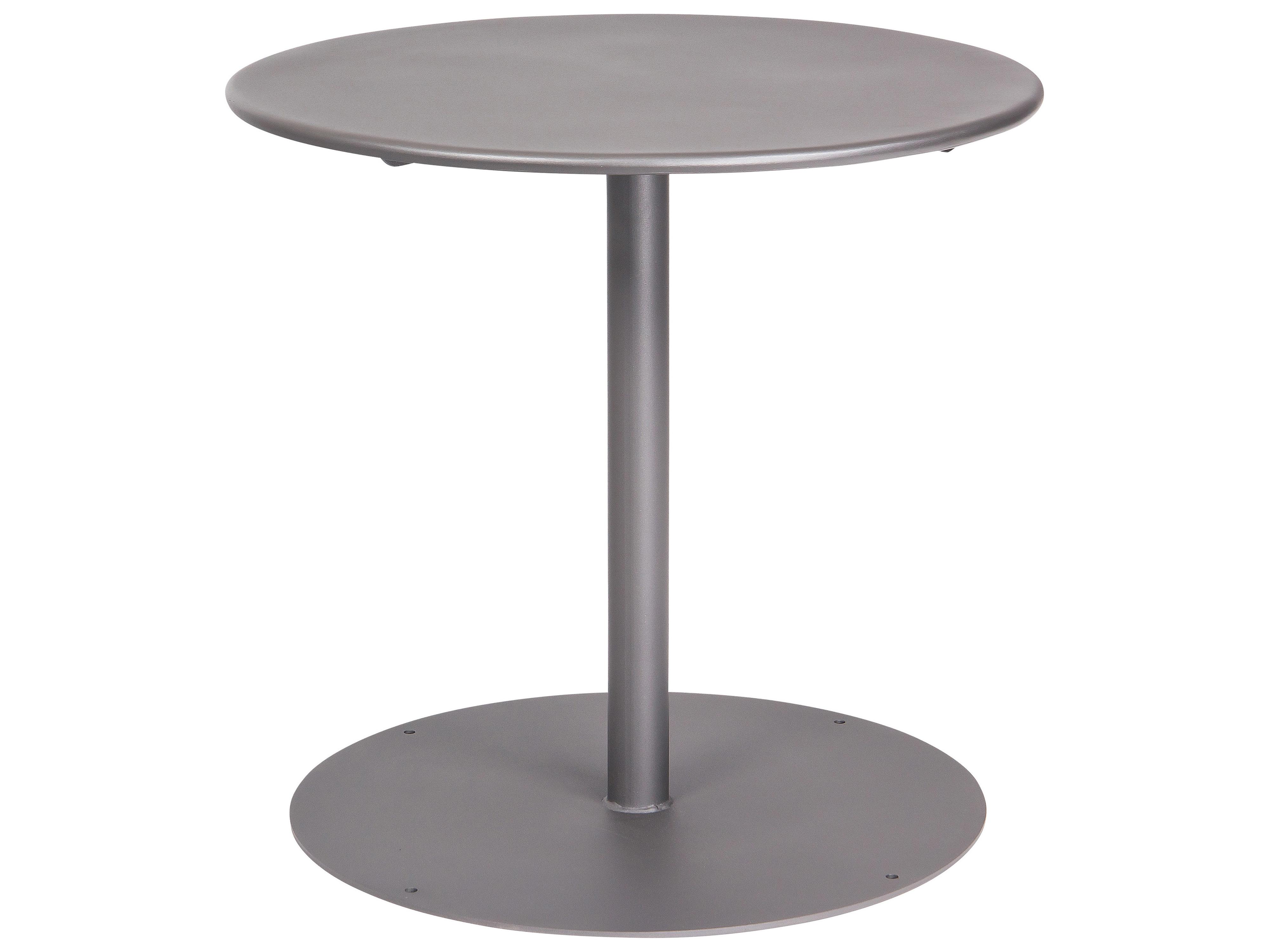 Woodard Wrought Iron 30 Round Bistro Table With Pedestal