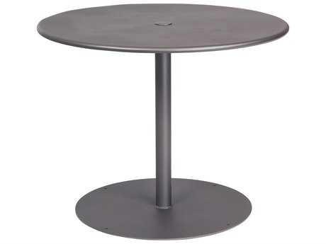 Woodard Wrought Iron 36 Round Table with Umbrella Hole