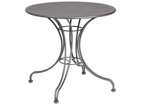 Woodard Wrought Iron 30 Round  Bistro Table