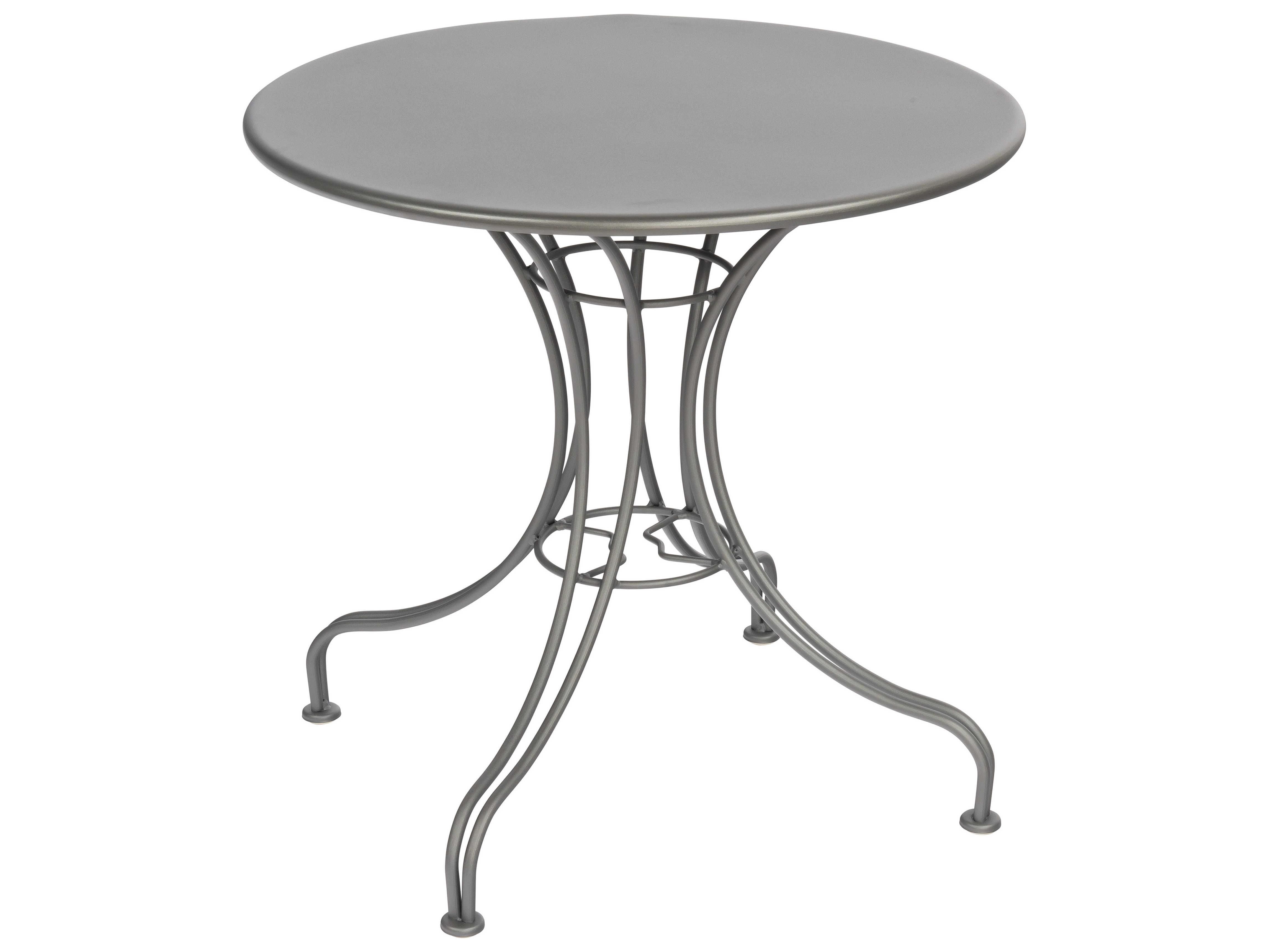 Woodard Wrought Iron 30 Round Bistro Table