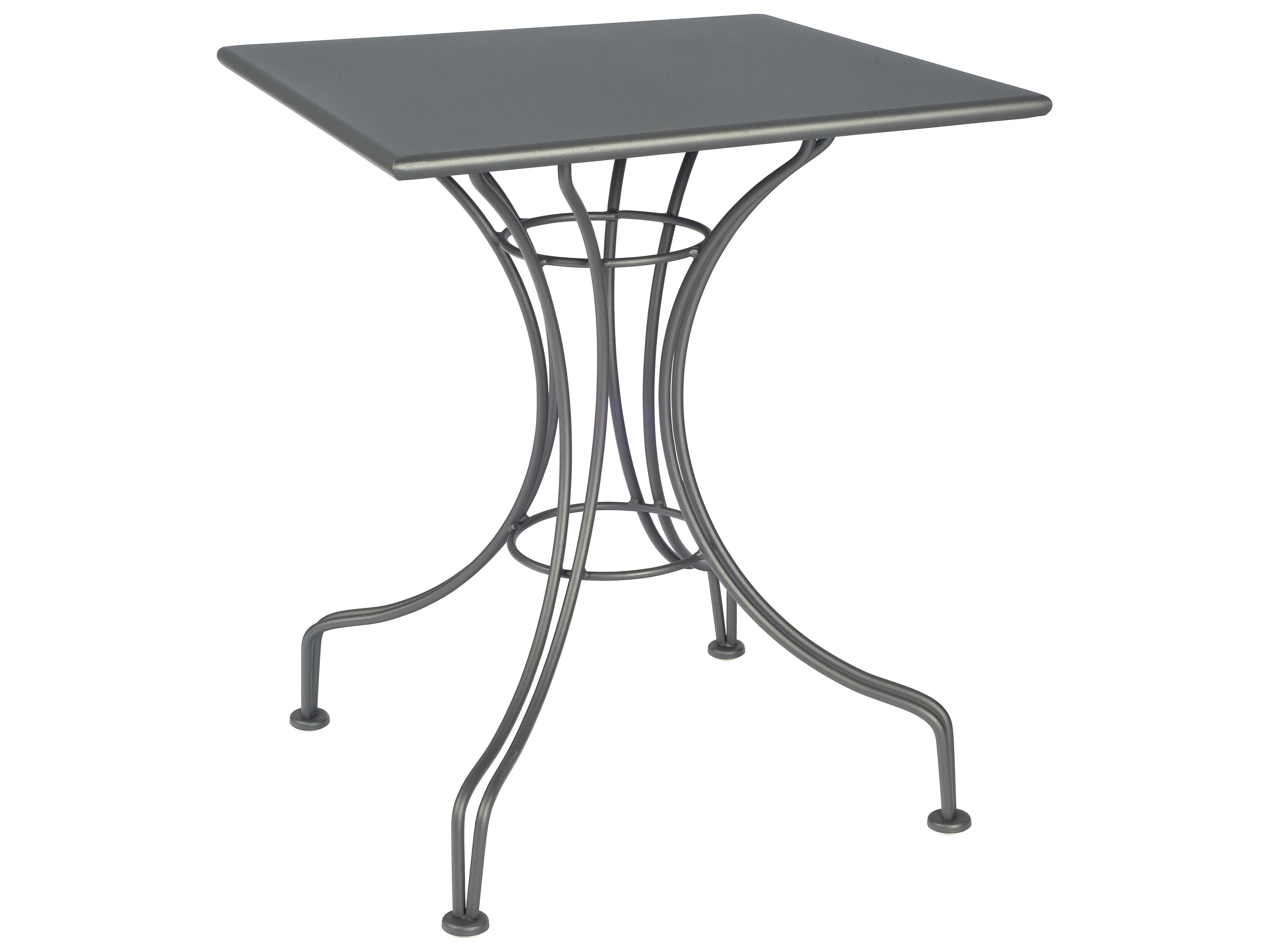 Woodard Wrought Iron 24 Square Bistro Table