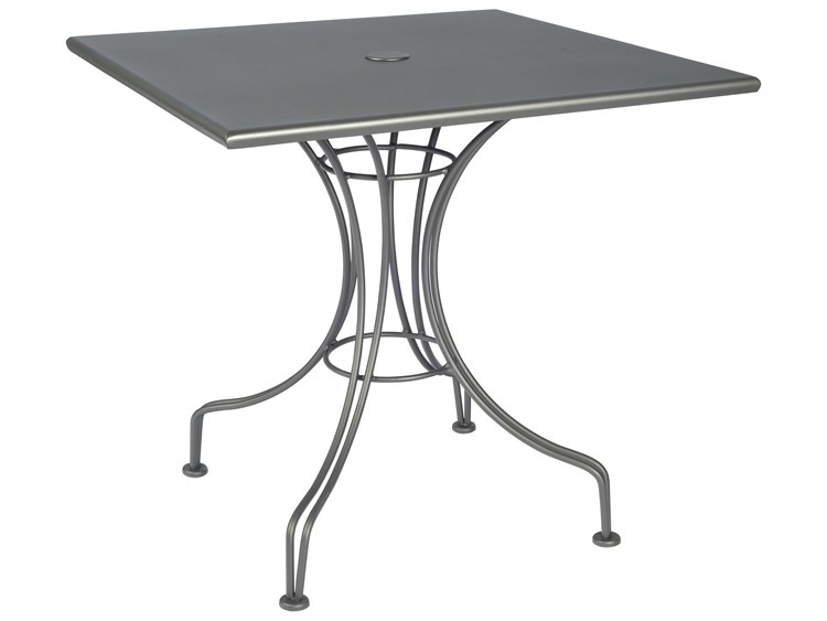 Woodard Wrought Iron 30 Square Bistro Table