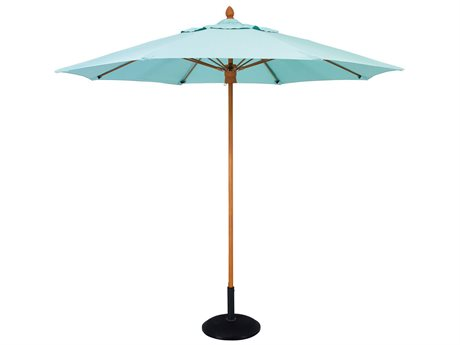 Woodard Fiberbuilt Bridgewater 7.5 Foot Square Umbrella