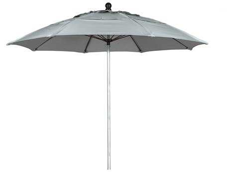 Woodard Lucaya Aluminum 9 Foot Octagon Market Umbrella