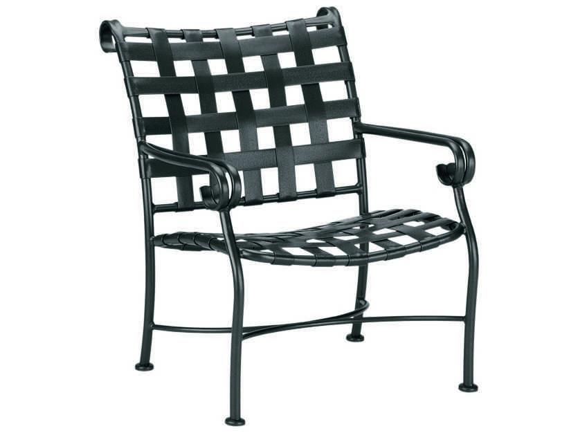 Woodard Ramsgate Strap Club Chair Replacement Cushions