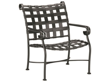 Woodard Ramsgate Aluminum Lounge Chair with Cushion