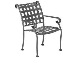 Ramsgate Aluminum Strap Stackable Dining Chair