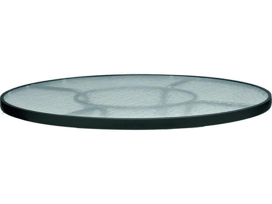 Woodard Ramsgate Aluminum 36 Round Obscure Glass Top