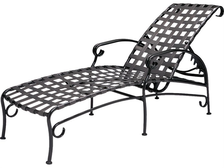 woodard ramsgate strap adjustable chaise lounge replacement cushions
