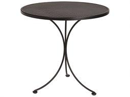 Mesh Wrought Iron 30 Round Bistro Table