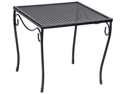 Wrought Iron 16 Square Medium End Table