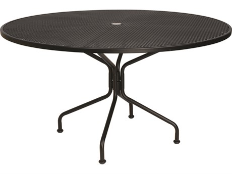 54'' Round 8-Spoke Table with Umbrella Hole