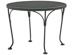 Mesh Wrought Iron 24 Round End Table