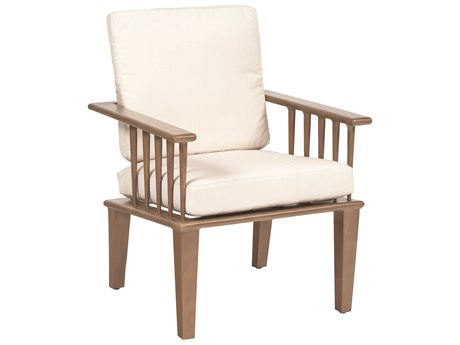 Woodard Van Dyke Aluminum Dining Chair