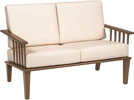 Woodard Van Dyke Aluminum Loveseat PatioLiving