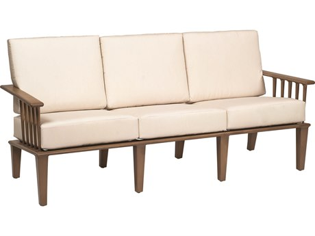 Woodard Van Dyke Aluminum Sofa PatioLiving