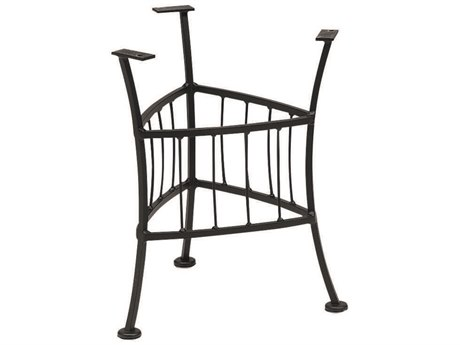 Woodard Easton Wrought Iron End Table Base Only