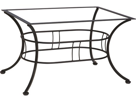 Woodard Easton Wrought Iron Coffee Table Base