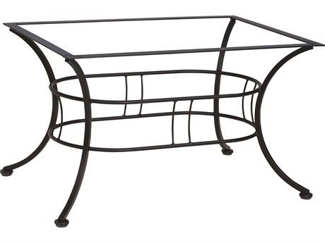 Woodard Easton Wrought Iron 48'' x 36'' Coffee Table Base