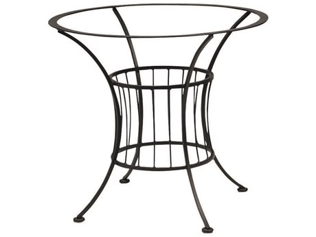 Woodard Easton Wrought Iron Dining Table Base Only WR1N4800