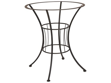 Woodard Easton Wrought Iron 30.5 Counter Height Table Base
