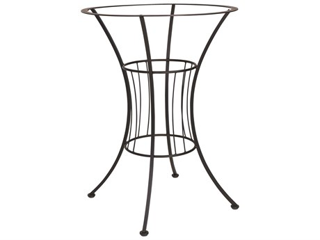 Woodard Easton Wrought Iron 30.5 Bar Height Table Base