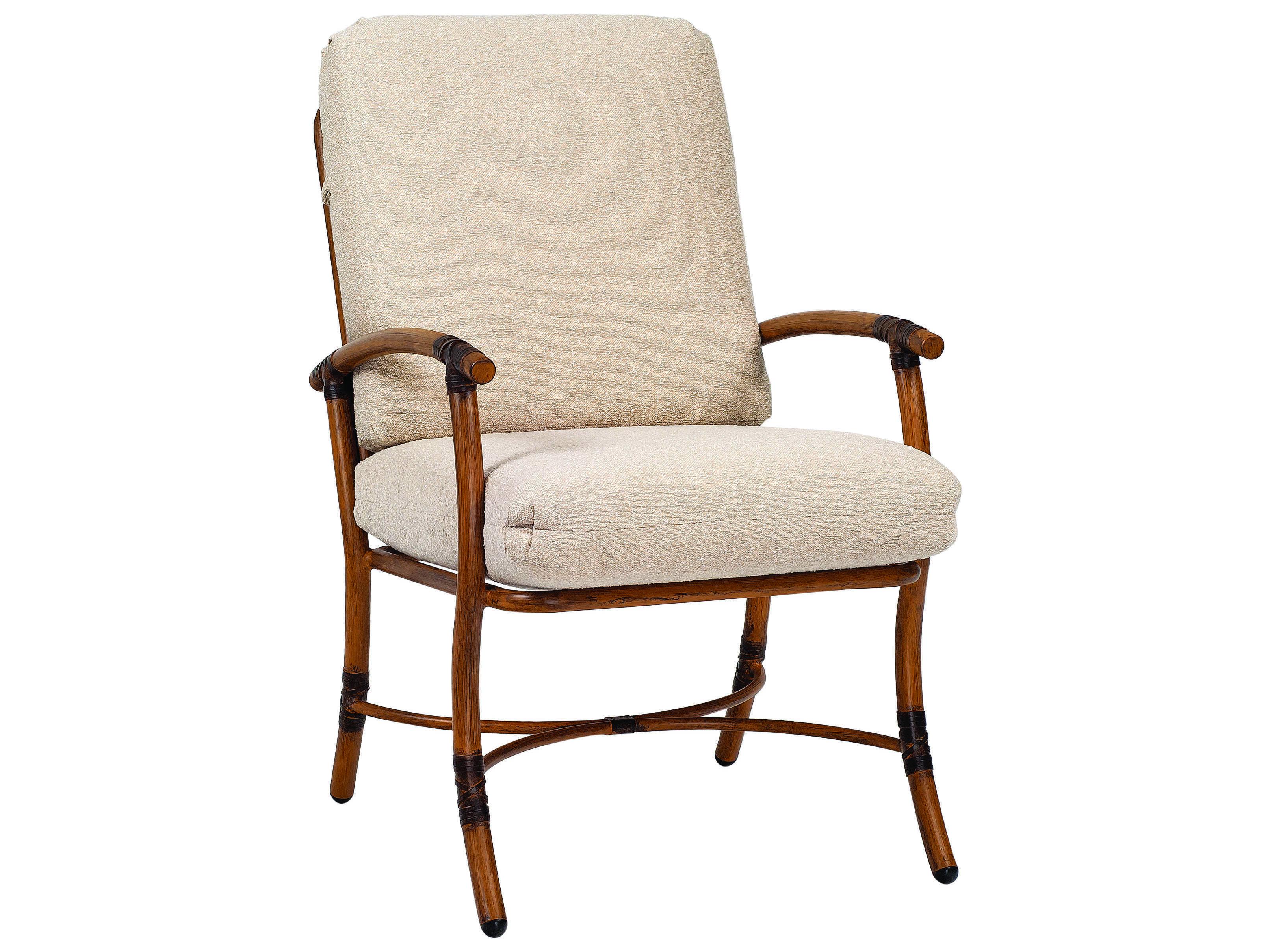 Woodard Glade Isle Cushion Aluminum Dining Arm Chair