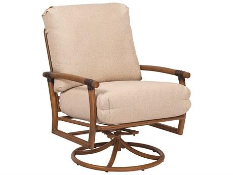 Woodard Glade Isle Swivel Rocking Lounge Chair Replacement Cushions