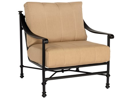 Woodard Nova Cast Aluminum Lounge Chair