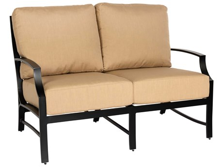 Woodard Seal Cove Aluminum Loveseat