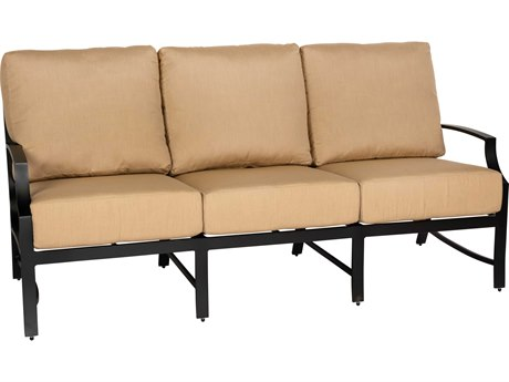 Woodard Seal Cove Aluminum Sofa