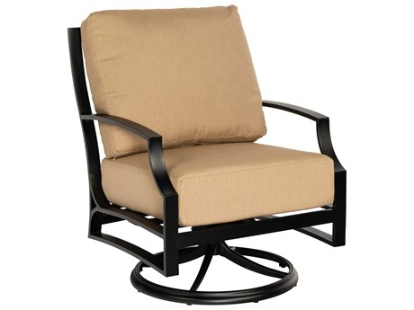 Woodard Seal Cove Aluminum Swivel Lounge Chair