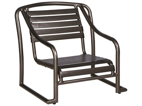 Woodard Baja Strap Aluminum Stackable Sand Lounge Chair
