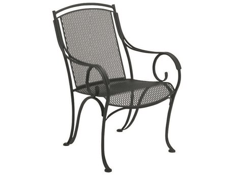 Woodard Modesto Wrought Iron Dining Arm Chair