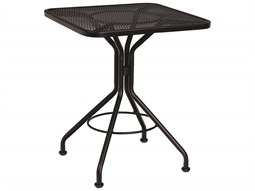 Wrought Iron 24 Square Bistro Table