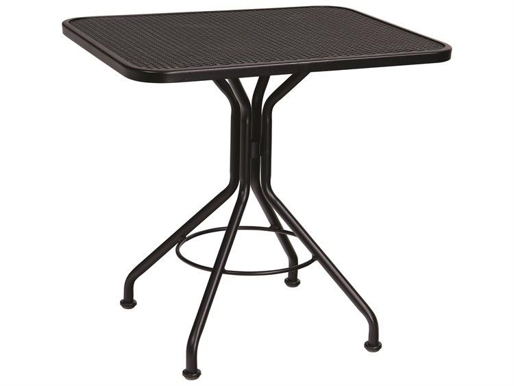 Woodard Wrought Iron  30 x 24 Rectangular Bistro Table