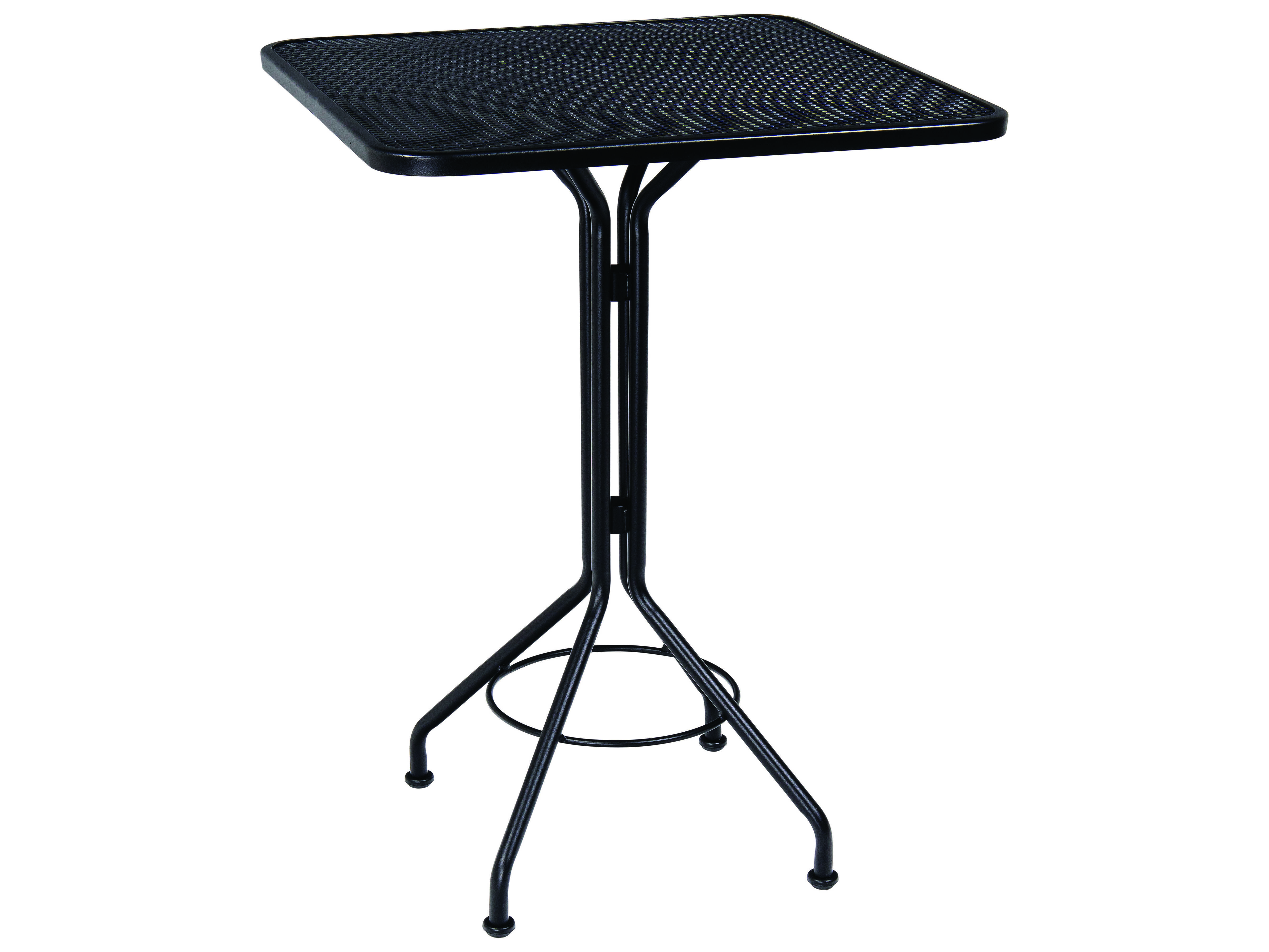 Woodard Wrought Iron 30 Square Bar Height Table 280098